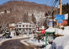 Regardless of the cold and snow, Mont Tremblant is a beautiful and welcoming town.