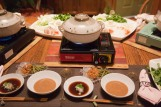 Shabu Shabu dinner offered by the wonderful hosts at Akané B&B.