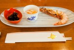 The shrimp as part of Osechi signifies a long life until your back curves...