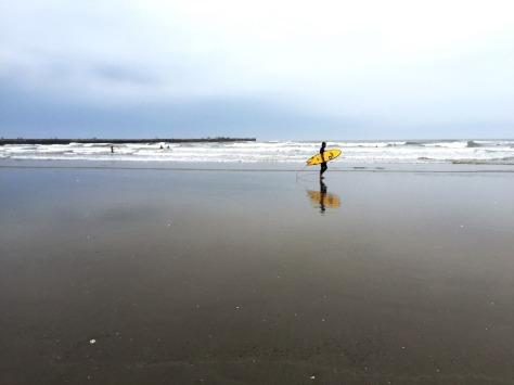 Surfing in Chiba